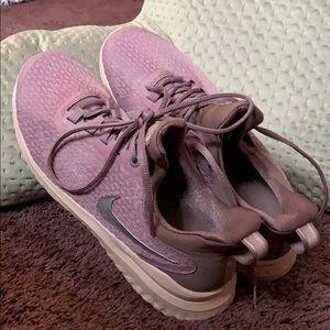 Women's size 9, purple Nike Renew Rivals.